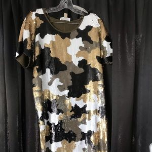 Michael Kors Sequin Dress *Fancy Camo*